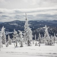 Зима в горах :: Сергей Бурнышев