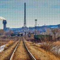 Завод по производству минеральных удобрений :: Любовь Потеряхина