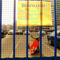 Не парковать! Срочный выезд с ребёнком! :: Светлана Лысенко