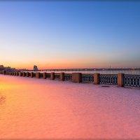 Краски февральского вечера :: Denis Aksenov