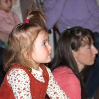 Добрый зритель в девятом ряду.......... :: Tatiana Markova