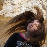 Лиза в каньоне медузы Горгоны :: Елена Мартынова