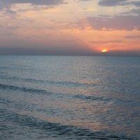 Закат на Каспии. :: Наталья