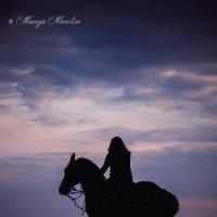 Только мы с конем... :: Ксения Курилина