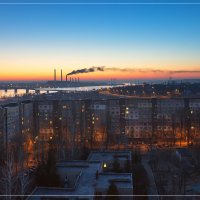 Город просыпается...! :: Denis Aksenov