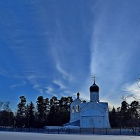 Зимнее небо в Переделкино. :: vkosin2012 Косинова Валентина