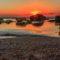 Закат на море :: Michael Egenburg