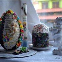 Со светлым Праздником! :: Anna Gornostayeva