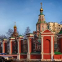 Москва. Церковь Иоанна Воина на Якиманке. :: марк