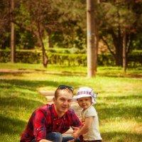 Папа и доченька :: Сергей