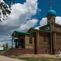 Церковь Георгия Победоносца в городе Соль-Илецк :: Сергей Канашин