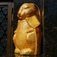 Golden Buddha Rabbit :: Yuriy Man