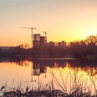 Строительный закат :: Maxim Yashkov