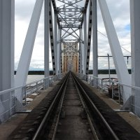 Мост через р.Уса Р Коми :: Василий