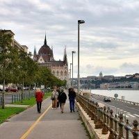 Набережная Дуная в Будапеште :: Денис Кораблёв