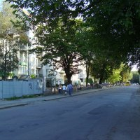 Улица  Вячеслава  Чорновола  в  Ивано - Франковске :: Андрей  Васильевич Коляскин
