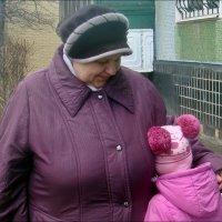 Бабушка всегда утешит :: Нина Корешкова