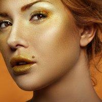 Золотая :: Анастасия Воробьёва