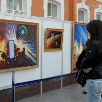 Выставка картин космонавта А.А. Леонова :: Вера Моисеева