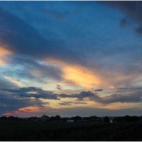 прекрасный закат после радуги... :: Райская птица Бородина