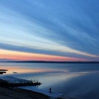 Вечерние краски на Волге. Апрель :: Ната Волга