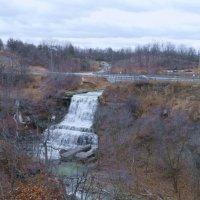 Albion Falls, один из 33 водопадов в г. Гамильтон (Канада) :: Юрий Поляков