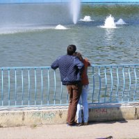 Любование фонтанами :: Александр Скамо