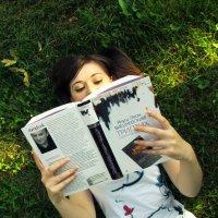 Чтение на природе :: Лера Николова