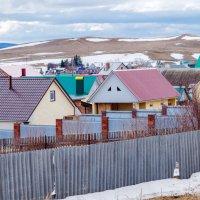 Разноцветные крыши :: Любовь Потеряхина