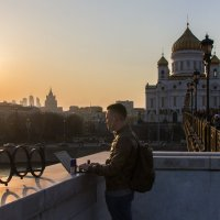 Рассказать о Москве :: Татьяна Копосова