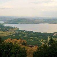 Три озера: Банное (Яктыкуль), Сабакты и Карабалыкты :: Лариса Мироненко