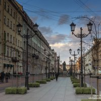 Малая Конюшенная улица :: Valeriy Piterskiy