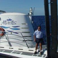 Маленький капитан подводной лодки. :: Владимир Смольников