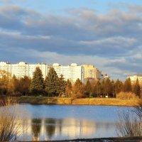 Весна.Апрель.Парк. :: Владимир Гилясев