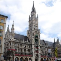 Новая ратуша – символ Мюнхена. :: Anna Gornostayeva