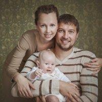 Семейная съемка в студии :: Ольга Блинова