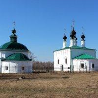 Входо-Иерусалимская и Пятницкая церкви :: Наталья Маркелова
