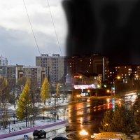 А из нашего окошка, только улица немножко :: Владимир Бобришев