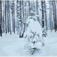 Из серии Зима :: Борис Гуревич