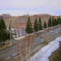 Апрель на моей улице . 18 04 2015 . :: Мила Бовкун