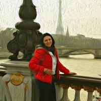 Я в Париже :: Galina Belugina