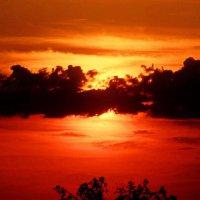 Красный закат :: Mavr -