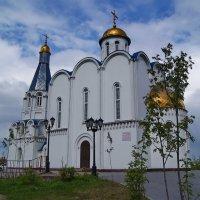 "Православный храм ""Спас на водах"" :: kolin marsh"