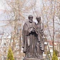 Пётр и Февронья. :: Андрей Синицын