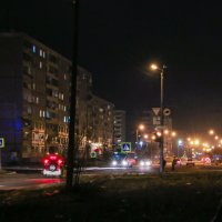 Вечер на Дикопольцева. :: Сергей Щелкунов