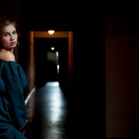 портрет девушки :: Вадим Толстой