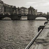Мост Ломоносова на Фонтанке. :: Владимир Питерский