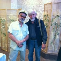 Владимир  Асмолов  и  скромный  почитатель  его  творчества...:) :: Валерий