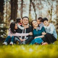 семья :: Кубаныч Молдокулов