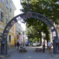 Кованая  арка  в  Ивано - Франковске :: Андрей  Васильевич Коляскин